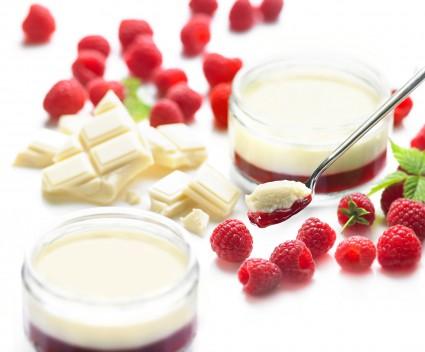 Parfait chocolat blanc et framboise paum e paris - Very parfait chocolat blanc ...