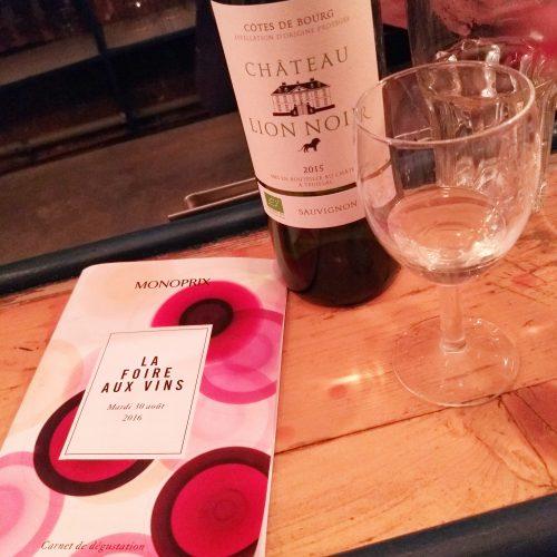 Monoprix foirre aux vins